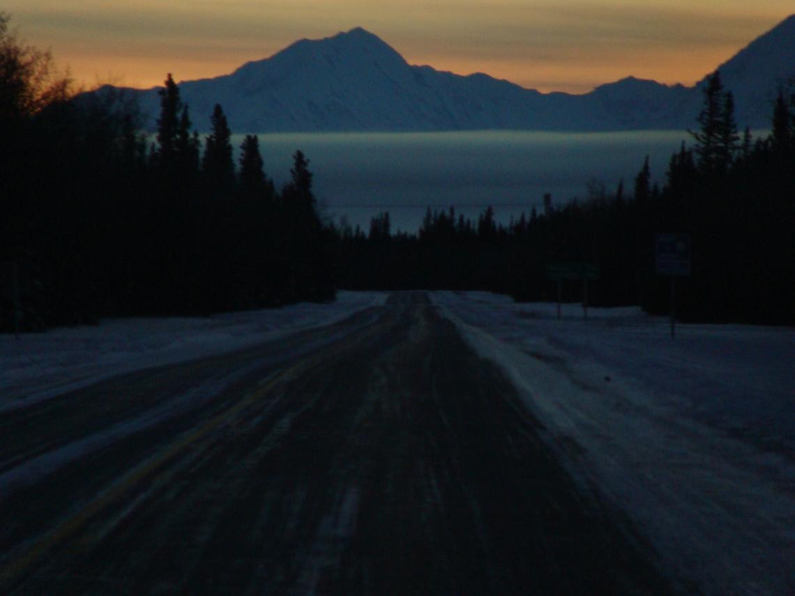 Along the Alaskan Road