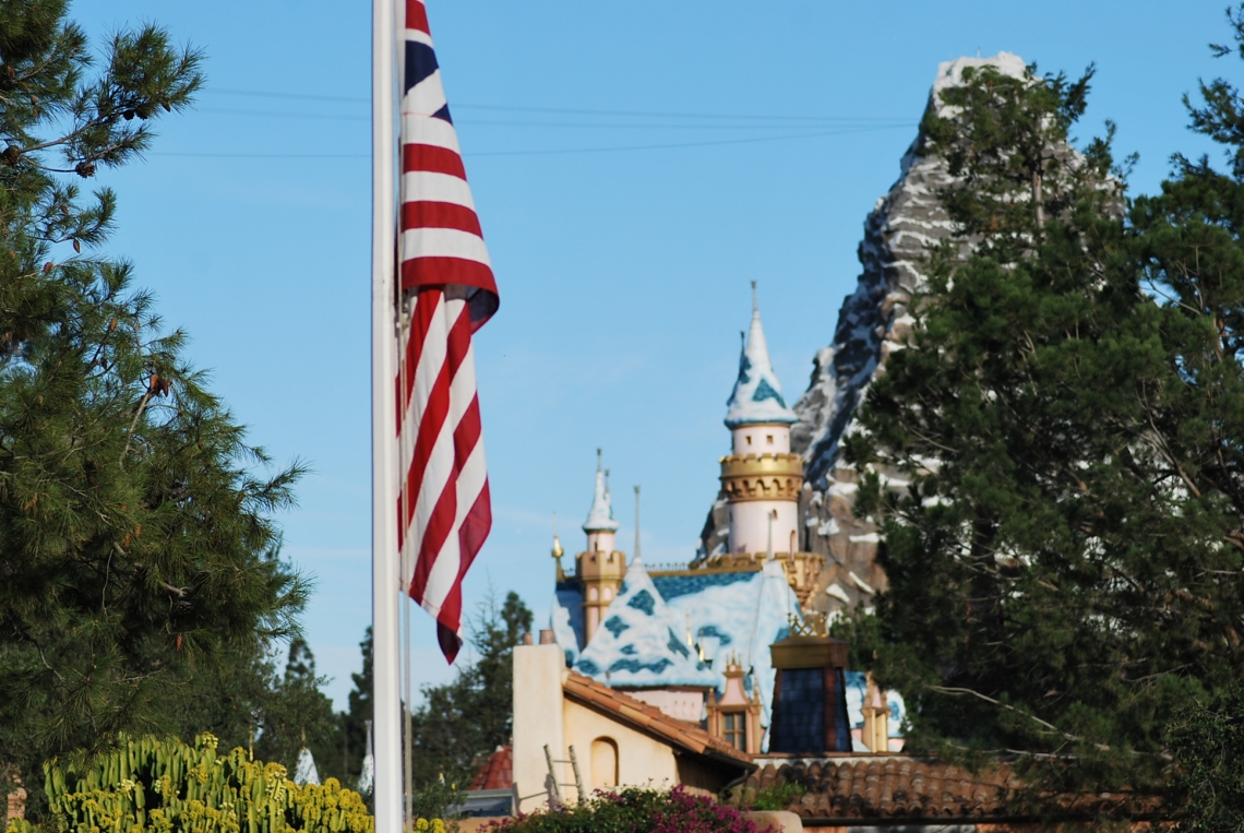 Flag and Castle