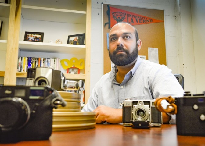 Film professor mixes art, enthusiasm