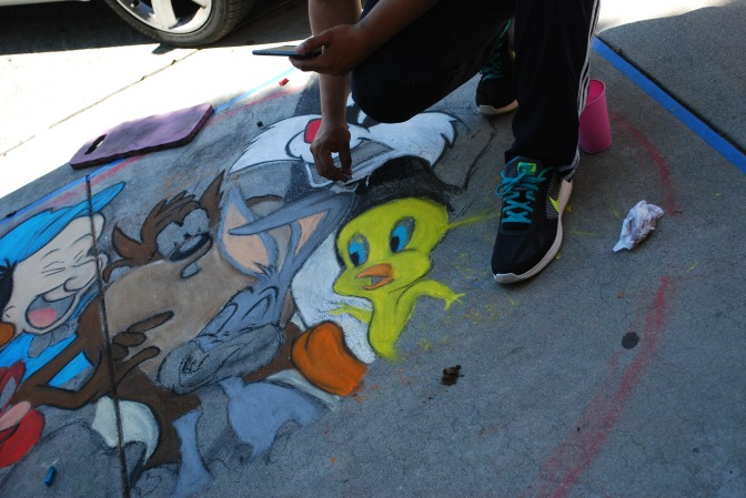 Chalk fest draws crowd To Glendora